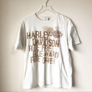 Harley Davidson | Ride free tee